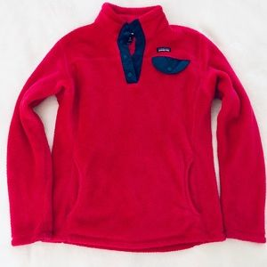 Patagonia Girls' Re-Tool Snap T Pullover